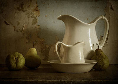 Old Pitcher Photograph - A Simpler Time by Amy Weiss