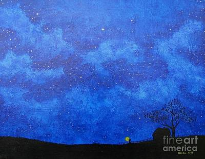 Painting - A Single Candle by Lori Ziemba
