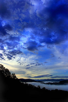 A Smoky Mountain Dawn Print by Michael Eingle