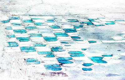 Photograph - A Splash Of Teal by Brenda Bryant