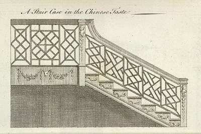 A Staircase Print by British Library