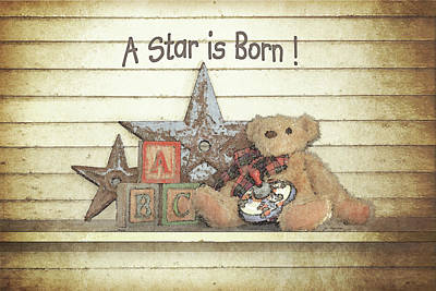 Inspirational Painting - A Star Is Born by Jo Moulton