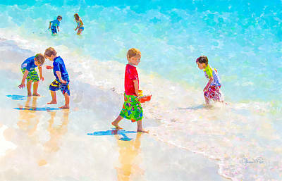 A Summer To Remember Print by Susan Molnar