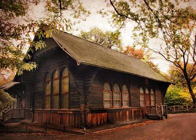 Charming Cottage Digital Art - A Swedish Cottage by Jessica Jenney