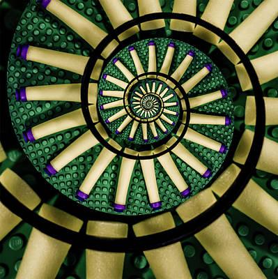 A Swirl Of Legonerf Print by Randy Turnbow