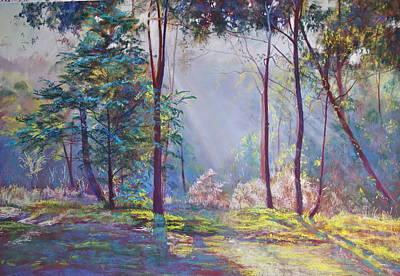 A Symphony Of Bush Colours Print by Lynda Robinson