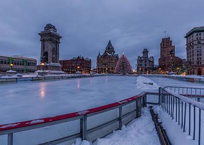 Syracuse Ny Photograph - A Syracuse Christmas 2014 by Everet Regal