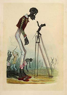 Slaves Photograph - A Tall Slave by British Library