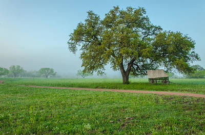 A Texas Morning Print by Jeffrey W Spencer