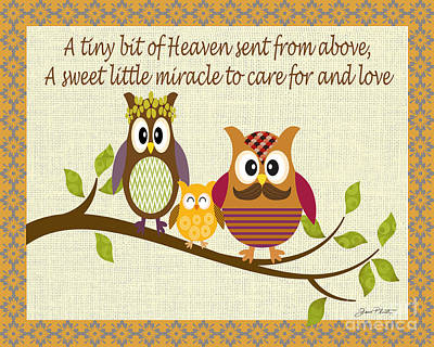 A Tiny Bit Of Heaven Original by Jean Plout