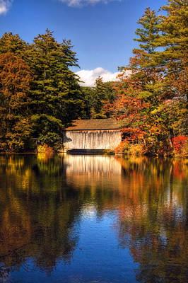 A Touch Of Autumn Print by Joann Vitali