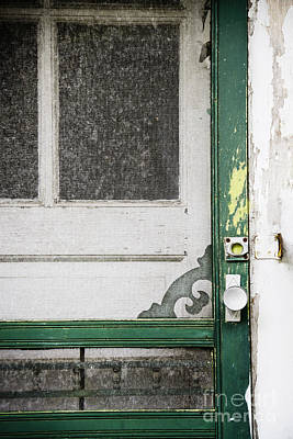 Screen Doors Photograph - A Touch Of Yellow by Margie Hurwich