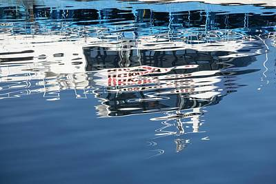 Beagle Photograph - A Tourist Excursion Boat by Ashley Cooper