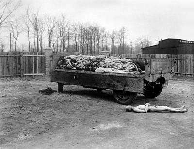 A Truck Load Of Bodies Of Dead Print by Everett