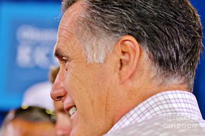 Mitt Romney Photograph - A True Patriot by Janice Rae Pariza