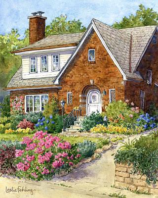 A Tudor Summer Original by Leslie Fehling