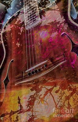 A Tune In The Woods By Steven Langston Print by Steven Lebron Langston