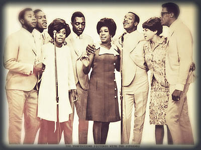 Motown Harmony Print by Kellice Swaggerty
