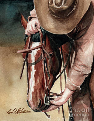 A Useful Horse Print by Linda L Martin