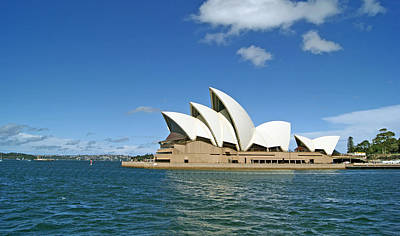 Danish Photograph - A View Of The Sydney Opera House by Anonymous