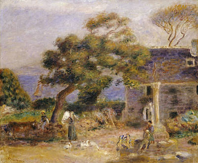 Pierre August Renoir Painting - A View Of Treboul by Celestial Images