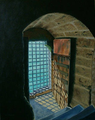 Imprisonment Painting - A View To Freedom by Jill Ciccone Pike
