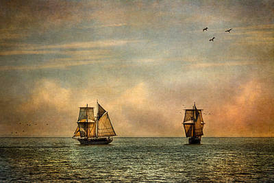 Wooden Ships Photograph - A Vision I Dream by Dale Kincaid