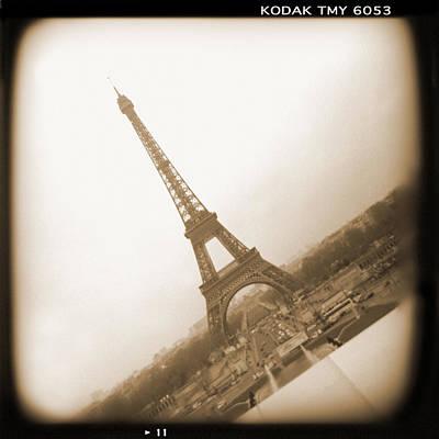 Holga Camera Photograph - A Walk Through Paris 11 by Mike McGlothlen