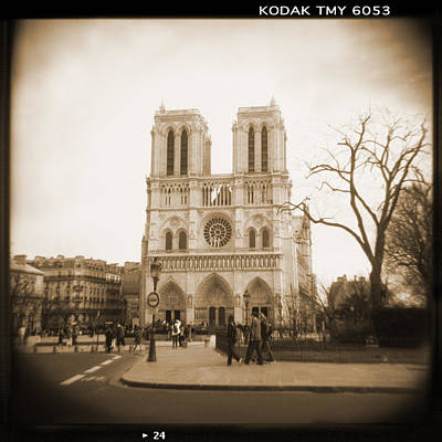 Notre Dame Digital Art - A Walk Through Paris 24 by Mike McGlothlen