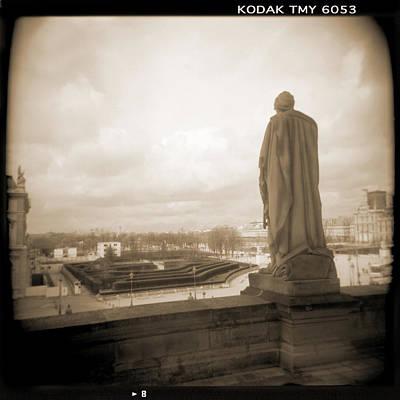 Holga Camera Photograph - A Walk Through Paris 8 by Mike McGlothlen