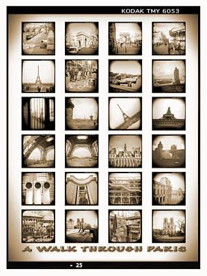 Holga Camera Photograph - A Walk Through Paris by Mike McGlothlen