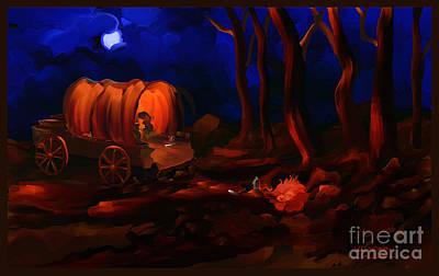 Trees Painting - A Westward Prayer Wind West Series Number 12 by Steven Lebron Langston