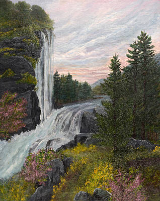 A Winding Journey Print by Barbara Willms