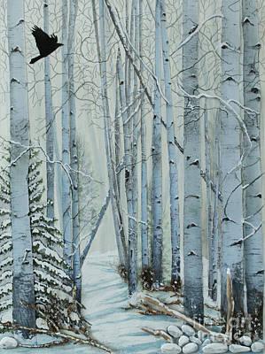 A Winter's Tale Print by Stanza Widen