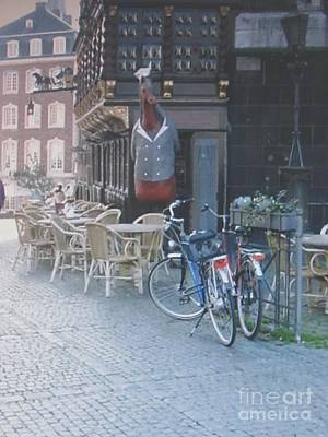 Street Digital Art - Aachen Square Aachen Germany by Anthony Morretta