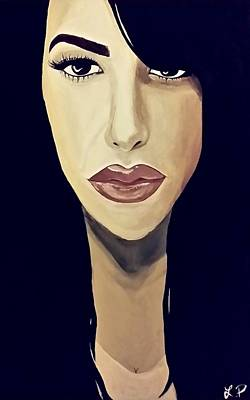 Aaliyah Painting - Aaliyah by Lakeisha Phillips