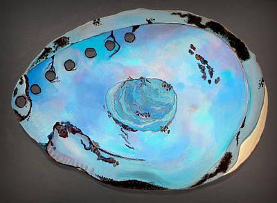 Abalone Painting - Abalone Sea Shell by Karyn Robinson