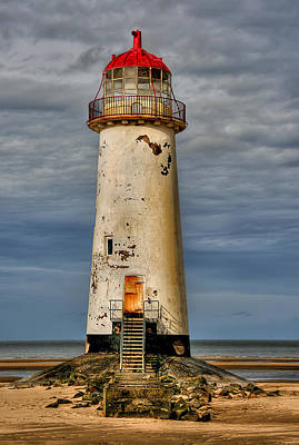 Talacre Photograph - Abandoned by Adrian Evans