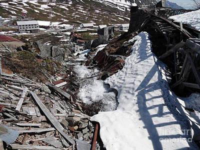 Abandoned Alaskan Gold Mine II Print by Dani Abbott