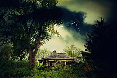 Storm Photograph - Abandoned And Angry by Emily Stauring