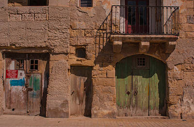 Marsaxlokk Photograph - Abandoned And Locked Down. by Christine Czernin-Morzin