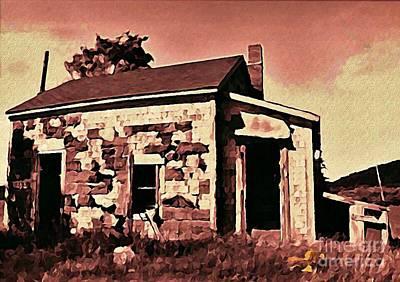 Abandoned Cape Breton House Print by John Malone