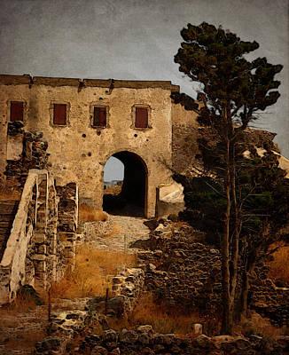 Abandoned Castle Print by Christo Christov