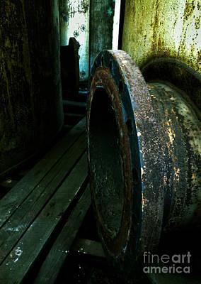Abandoned Denaturing Tanks V Print by James Aiken