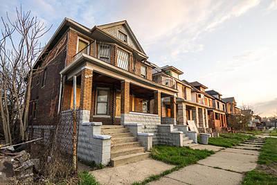 Abandoned Photograph - Abandoned Detroit Neighborhood by Priya Ghose