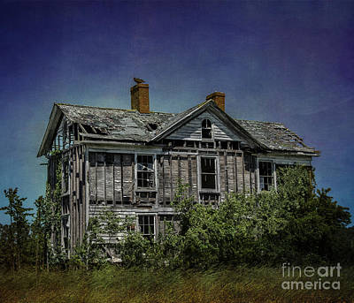 Farm Stand Photograph - Abandoned Dream by Terry Rowe