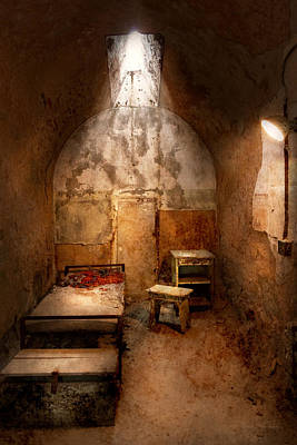 Abandoned - Eastern State Penitentiary - Life Sentence Print by Mike Savad