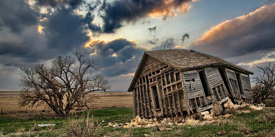 Decrepit Photograph - Abandoned Farmstead 2 by Thomas Zimmerman