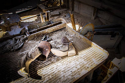 Mining Photograph - Abandoned Gold Mine by Scott McGuire