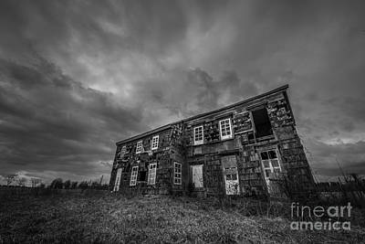 Abandoned History 2 Bw Original by Michael Ver Sprill